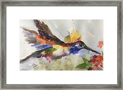 Inflight Framed Print