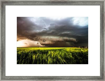 Inflow Framed Print by Sean Ramsey