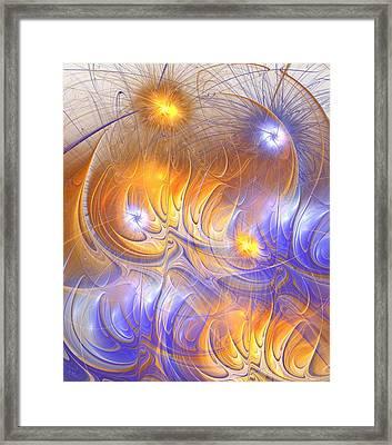 Influence Framed Print by Anastasiya Malakhova