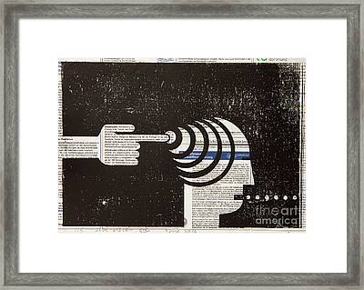 Influential Mind Control Framed Print