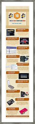 Infographic10 Tips To Avoid Memory Card Errors And Corruptions Framed Print