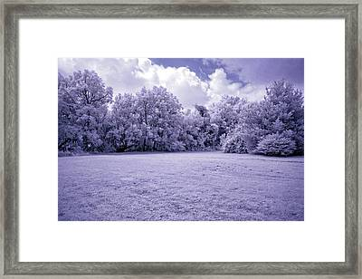 Infrared In Glasgow Ky Framed Print