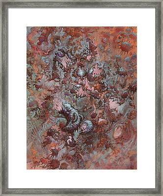 Infuriated  Framed Print by Ethan Harris