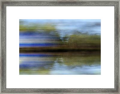 Infused Reflections Framed Print by Skip Willits