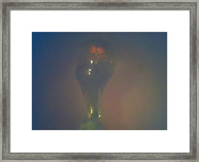Framed Print featuring the sculpture Infusion by Phillip H George
