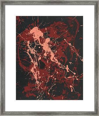 Ingenue - Tears Of Love's Recall Framed Print