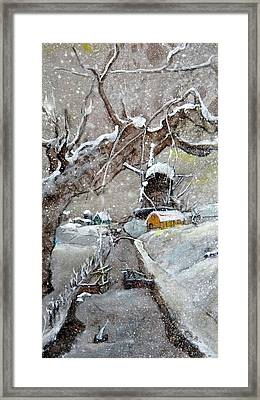 Framed Print featuring the painting Inges Netherlands by Debbi Saccomanno Chan