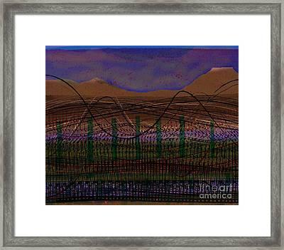 Ingleborough Breeze Framed Print by Andy  Mercer