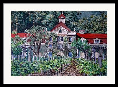 Coppola Winery Framed Prints