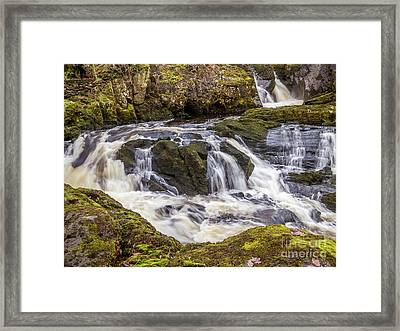 Ingleton Waterfalls Framed Print by Peter Stuart