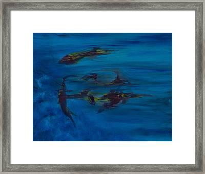 Inhabitants #2 Framed Print