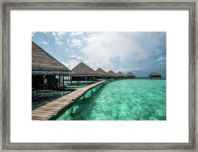 Framed Print featuring the photograph Inhale by Hannes Cmarits