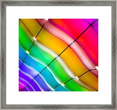 Inhaling Love Framed Print