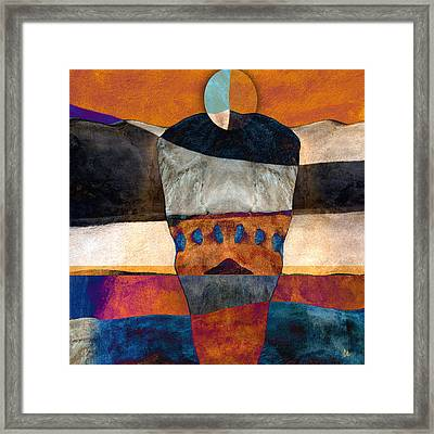 Inherent Number 2 Framed Print