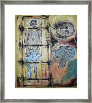 Inhumanity Framed Print by Narayanan Ramachandran
