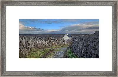 Inis Mor Country Framed Print by Betsy Knapp