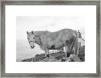Inis Mor Old Spirit Framed Print
