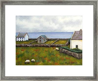 Inishmore Island Framed Print by Brenda Williams