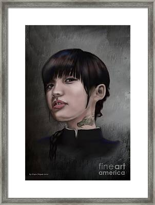 Initiated Framed Print by Crispin  Delgado