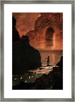 Initiation Framed Print by Cambion Art