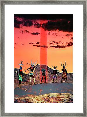 Initiation Framed Print by Mark Myers