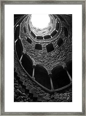 Initiation Well Framed Print