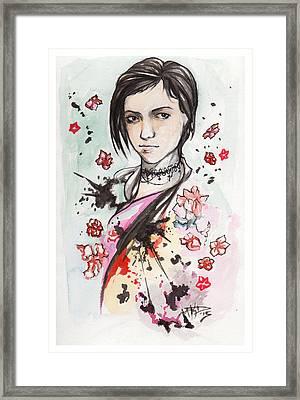 Ink Blots Framed Print by Miguel Karlo Dominado