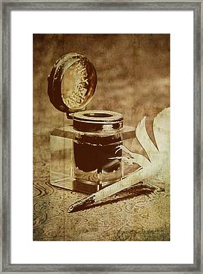 Inkwell V Framed Print by Tom Mc Nemar