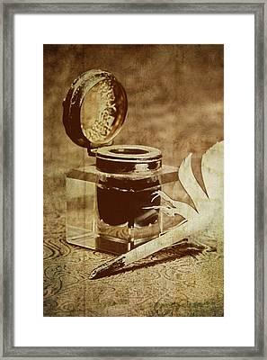 Inkwell V Framed Print
