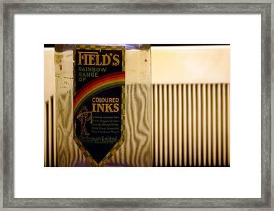 Inky View Framed Print by Jez C Self
