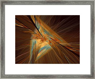 Inlaid Framed Print