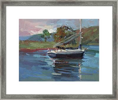 Inland Bay - Catalina Island Framed Print