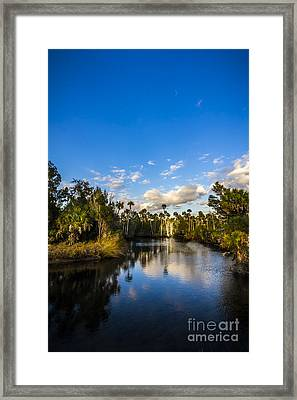 Inlet Cove Framed Print by Marvin Spates