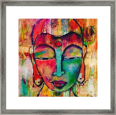 Inner Buddha  Framed Print