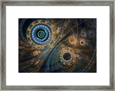 Inner Complex Framed Print