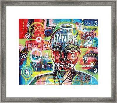 Inner Crown Framed Print by Wall  Street