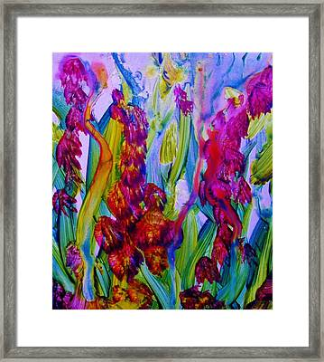 Inner Earth Garden Framed Print