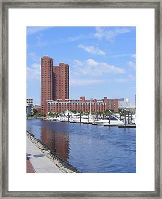 Inner Harbor Framed Print by James and Vickie Rankin