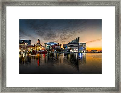 Inner Harbour  Framed Print