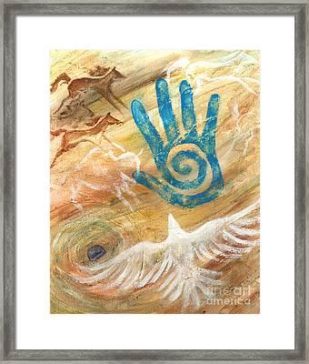 Inner Journey Framed Print by Brandy Woods