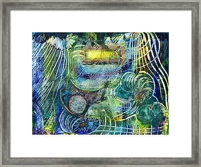 Inner Journey Framed Print by Ishwar Malleret