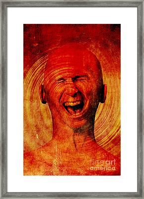 Inner Pain Framed Print