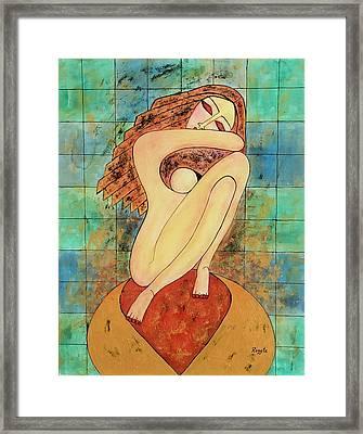Inner Peace.... Framed Print