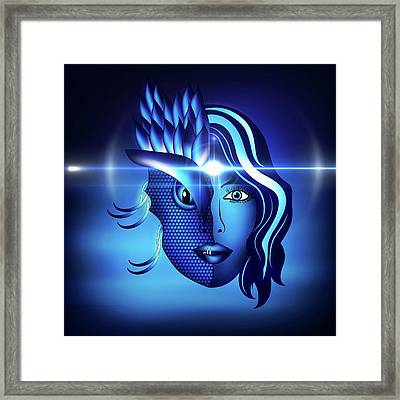 Inner Quest Framed Print by Serena King