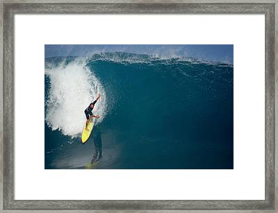 Inner Reflection Framed Print by Kevin Smith