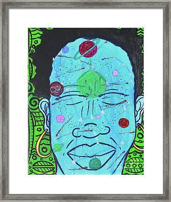 Inner-stellar Space Framed Print