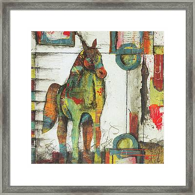 Inner Strength  Framed Print by Laura Lein-Svencner