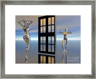 Inner Strength Framed Print by Sandra Bauser Digital Art