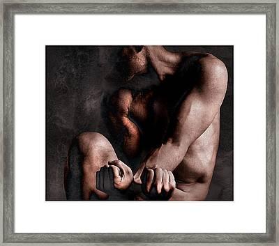 Inner Struggle Framed Print by Geoff Ault