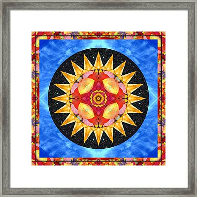 Inner Sun Framed Print by Bell And Todd